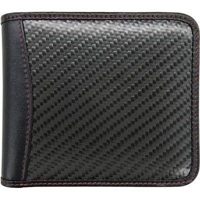 エアージェイ GT-MOBILE リアルカーボン二つ折財布 GTR-GT1