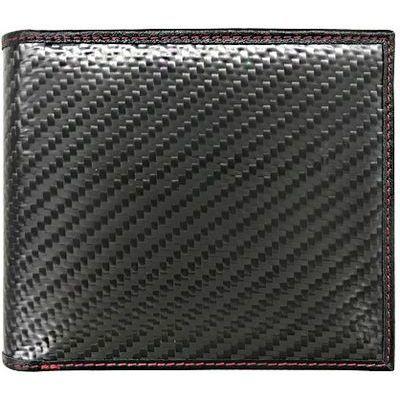 エアージェイ GT-MOBILE リアルカーボン二つ折財布小銭ポケットタイプ GTR-GT2