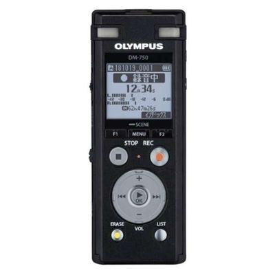 オリンパス オリンパス Voice Trek DM-750 ブラック 1台 4545350052171【納期目安:2週間】