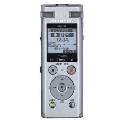 オリンパス オリンパス Voice Trek DM-750 シルバー 1台 4545350052188【納期目安:2週間】
