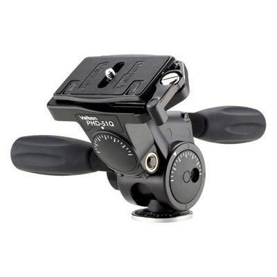 ベルボン ベルボン カメラ用雲台 3ウェイ式 PHD-51Q 1台 4907990470447【納期目安:2週間】