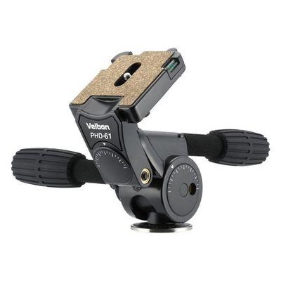 ベルボン ベルボン カメラ用雲台 3ウェイ式 PHD-61 1台 4907990470706【納期目安:2週間】
