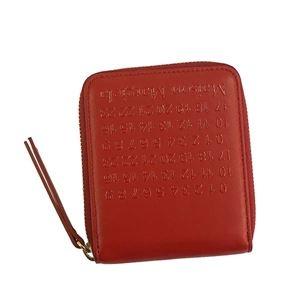 その他 Maison Margiela(メゾン マルジェラ) 2つ折小銭付き財布 S56UI0111 T4327 RED ds-2154818