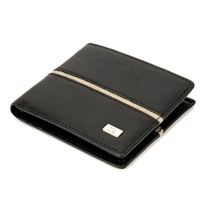 その他 PRIMA CLASSE(プリマクラッセ) P-3002-1 メンズ二つ折り財布/ブラック ds-2162803
