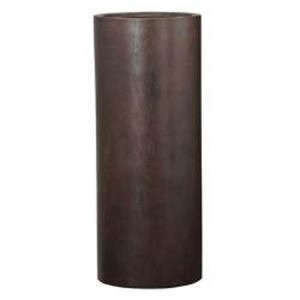 その他 木目調樹脂製鉢カバー MOKU トールシリンダー 40xH100cm ds-2165965