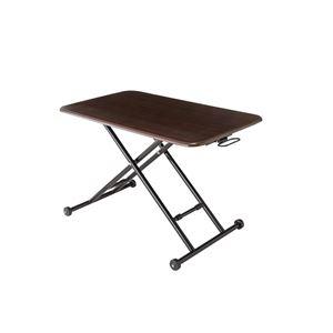 その他 ローテーブル/センターテーブル 【ブラウン】 幅85~103cm 木製 スチール キャスター付き 『NEW らくらく昇降式フリーテーブル』【代引不可】 ds-2166011