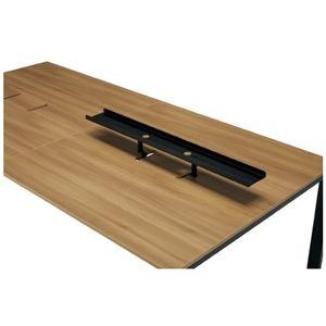 その他 プラス 増連型テーブル用トップラック MR-R12 BK ds-2166537