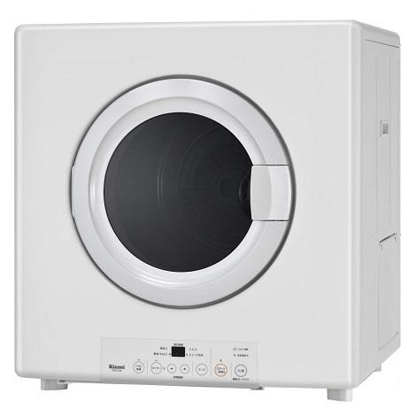 リンナイ 業務用乾燥容量8kg ガス衣類乾燥機「乾太くん」(都市ガス 12A/13A)ガスコード接続タイプ(ピュアホワイト) RDTC-80-13A