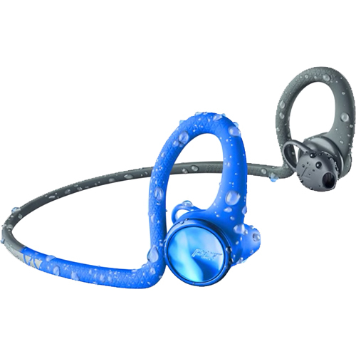 PLANTRONICS BLUETOOTHヘッドセット(ブルー/ブラック) BACKBEATFIT2100-BLU