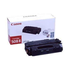 その他 【純正品】 キヤノン(Canon) トナーカートリッジ ブラック 型番:カートリッジ508 II 印字枚数:6000枚 単位:1個 ds-1096849