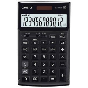 その他 カシオ計算機 本格実務電卓 JS-20WK-MBK-N ブラック ds-2168076