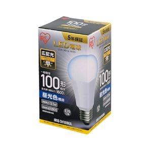 その他 (まとめ)アイリスオーヤマ LED電球100W E26 広配 昼光 LDA14D-G-10T5【×5セット】 ds-2170802