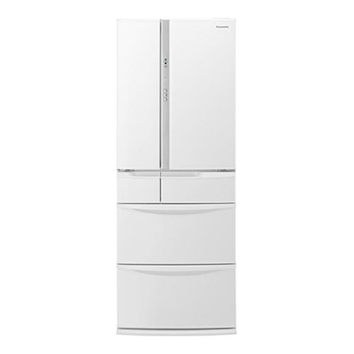 パナソニック 415L フレンチドア 6ドア冷蔵庫 ハーモニーホワイト NR-FV45S5-W【納期目安:2週間】