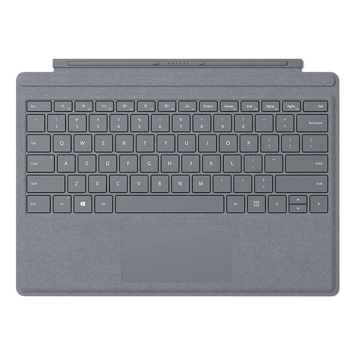 マイクロソフト Surface Pro Signature タイプ カバー [プラチナ] ・ガラス製トラックパッド ・LEDバックライト ・高耐久性 FFP-00019【納期目安:2週間】