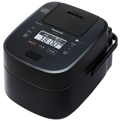パナソニック Wおどり炊き搭載 0.5~5.5合 スチーム&可変圧力IHジャー炊飯器 (ブラック) SR-VSX109-K【納期目安:06/01発売予定】