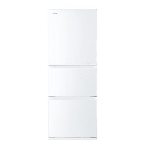 東芝 VEGETA 3ドア冷蔵庫 (330L・右開き) グレインホワイト GR-R33S-WT【納期目安:3週間】