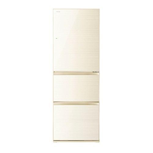 東芝 VEGETA 3ドア冷蔵庫 (363L・右開き) ラピスアイボリー GR-R36SXV-ZC【納期目安:約10営業日】