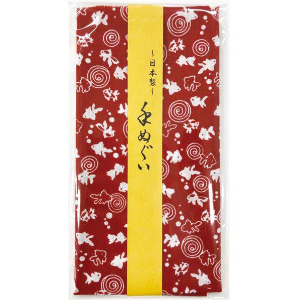 その他 【100個セット】小紋手拭い1枚(金魚) 2214193