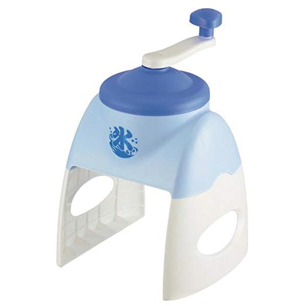 その他 【12個セット】おウチで簡単かき氷器1台(ブルー) 2214200