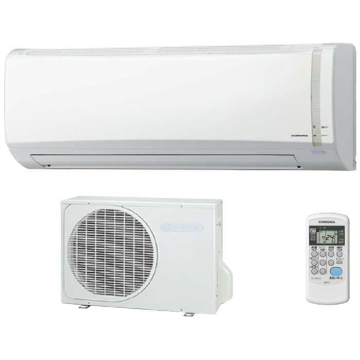コロナ ルームエアコン 冷房・暖房・除湿の基本性能重視のシンプルモデル おもに8畳用 CSH-N2519RW