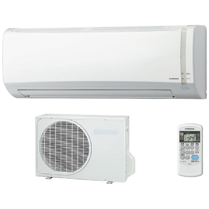 コロナ ルームエアコン 冷房・暖房・除湿の基本性能重視のシンプルモデル おもに10畳用 CSH-N2819RW