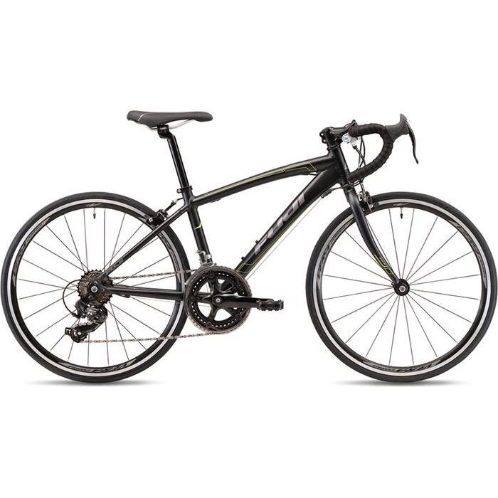 FUJI 2019年モデル エース(ACE 24) 24インチ MATTE BLACK 子供用自転車 19AC24BK24【納期目安:追って連絡】