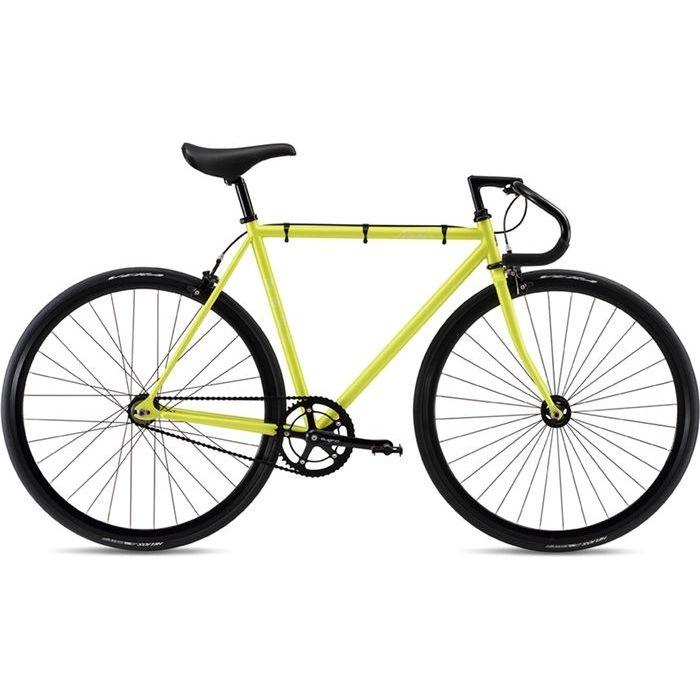FUJI 2019年モデル フェザー(FEATHER ) 58cm シングルスピード MATTE LEMON ピストバイク 19FETRYL58【納期目安:追って連絡】