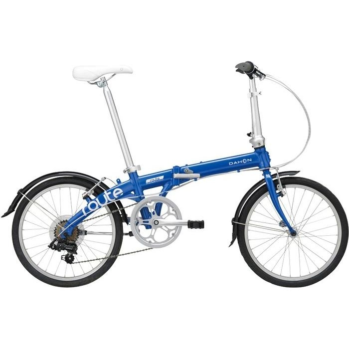 DAHON(ダホン) 2019年モデル ルート(Route) 7段変速 コバルトブルー 折りたたみ自転車 19ROUTBL00