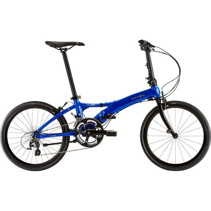 DAHON(ダホン) 2019年モデル ヴィスク エヴォ(Visc EVO) 2x10段変速 エナメルブルー 折りたたみ自転車 19VISCBL00