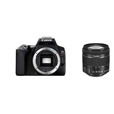 キヤノン デジタル一眼レフカメラ EOS Kiss X10ブラック+EF-S18-55 IS STM セット お一人様1台限り KISSX10BK-1855ISSTMLK【納期目安:4/25発売予定】