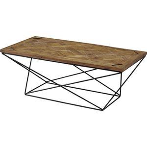 その他 センターテーブル/ローテーブル 【幅120cm】 木製 アイアン 『ヒストリア』 〔リビング 店舗〕【代引不可】 ds-2173507