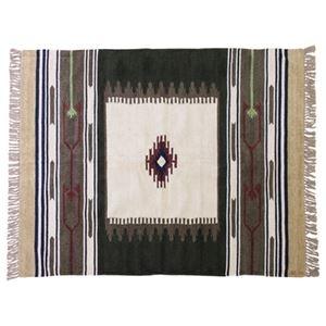 その他 キリム ラグマット/絨毯 【170×230cm TTR-107A】 長方形 綿 インド製 〔リビング ダイニング フロア 居間〕 ds-2173342
