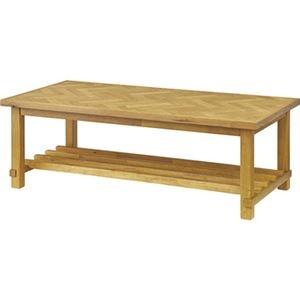 その他 シンプル ローテーブル 【ナチュラル 幅120cm】 木製 ウレタン塗装 『クーパス』 〔リビング キッチン 店舗 飲食店〕 ds-2173425