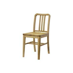 その他 ダイニングチェア/食卓椅子 2脚セット 【幅38cm】 木製 ウレタン塗装 『クーパス』 〔キッチン 台所 リビング 店舗〕 ds-2173491