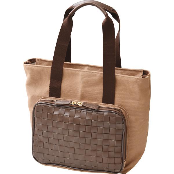 その他 良品工房 日本製牛革編みこみ使いトートバッグ(包装・のし可) 4560286936333【納期目安:1週間】