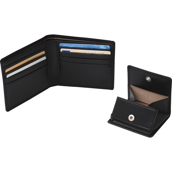 その他 良品工房 日本製牛革財布&小銭入れセット(包装・のし可) 4560286936272