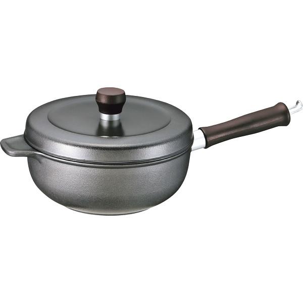 その他 味わい鍋 片手鍋(20┣cm┫) ブラック (包装・のし可) 4943250111125
