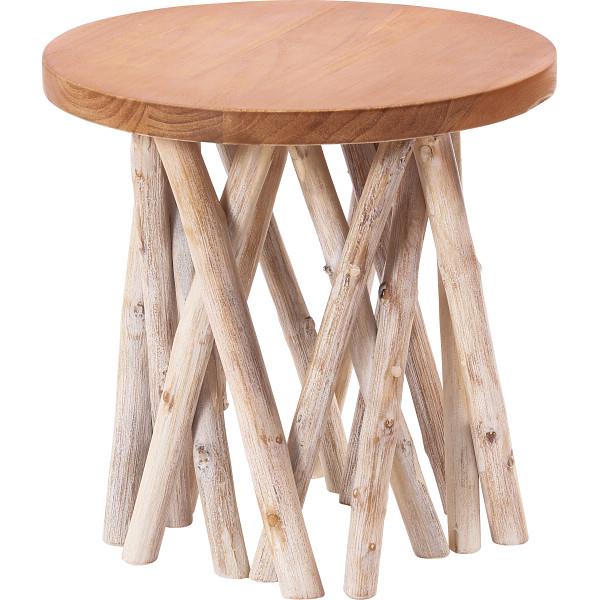 その他 木製サイドテーブル 2411570002451【納期目安:1週間】