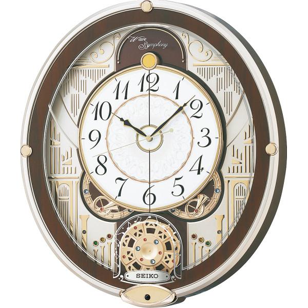 その他 セイコー 電波からくり掛時計(包装・のし可) 4517228038525【納期目安:1週間】