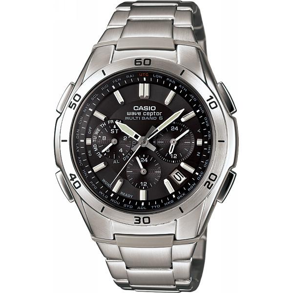 その他 カシオ ソーラー電波 メンズ腕時計 ブラック (包装・のし可) 4971850913900【納期目安:1週間】