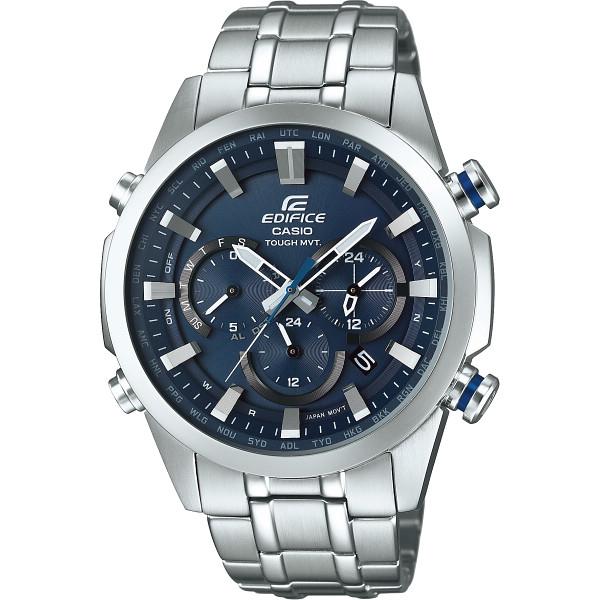 その他 エディフィス メンズ腕時計 ネイビーブルー (包装・のし可) 4549526121463【納期目安:1週間】