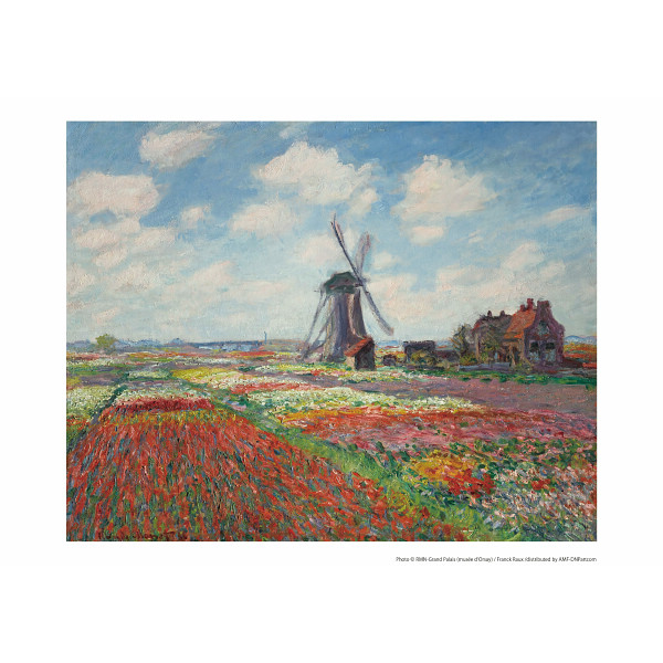 その他 モネ「オランダのチューリップ畑」(包装・のし可) 2400046001036【納期目安:1週間】