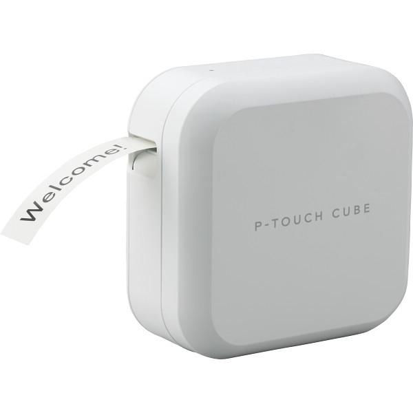 ブラザー P-TOUCH CUBE (ピータッチ キューブ) ラベルライター 18・24テープ対応モデル PT-P710BT【納期目安:約10営業日】