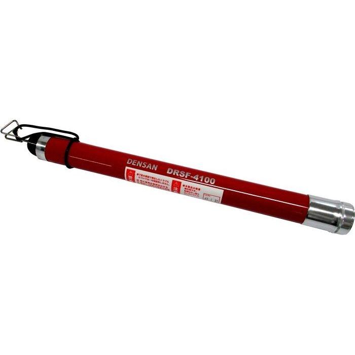ジェフコム デンサン(DENSAN) レッドミニ3M ケース付 軽索引用フィッシャーシリーズ ブラックフィッシャー DRSF-4100 4937897017674