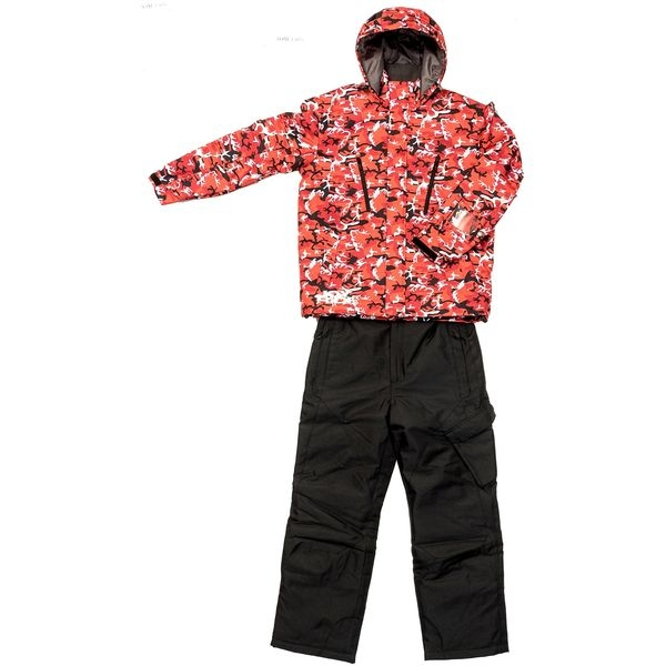 ジョイライド JOY RIDE 男性用ウエア JOM‐1305 赤色 サイズ:L (赤色サイズ:L) JOM1305-R-L