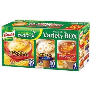 その他 (まとめ)味の素 クノールカップスープ バラエティボックス【×10セット】 ds-2177776