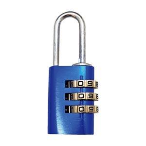 その他 (まとめ)WAKI アルミのカギ 3段番号可変式錠 ブルー【×30セット】 ds-2178067