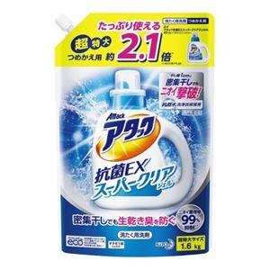 その他 (まとめ)花王 アタック抗菌EX クリアジェル 詰替 1.6kg【×30セット】 ds-2178388