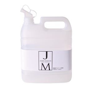 その他 (まとめ)P&G 除菌用アルコール JAMES MARTIN 4L【×5セット】 ds-2178570
