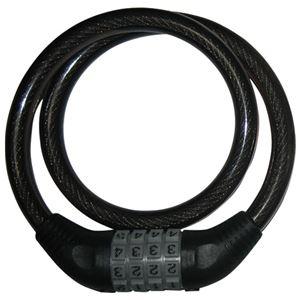 その他 (まとめ)OTOMO 自転車用ワイヤー錠 ダイヤル式 1004【×30セット】 ds-2178815